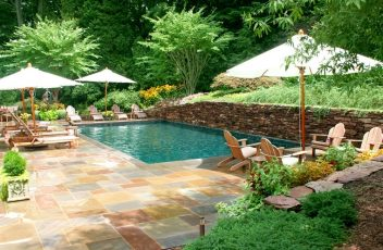 Swimming Pool Design Ideas And Pool Landscaping pertaining to Swimming Pool Design Ideas
